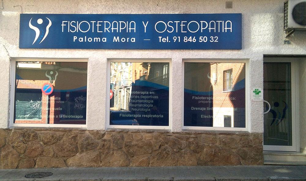 Osteopatía Paloma Mora en Colmenar Viejo