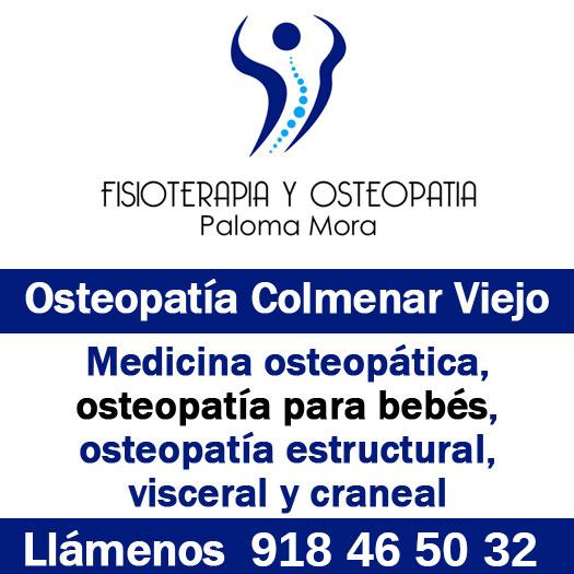 Osteopatía en Colmenar Viejo