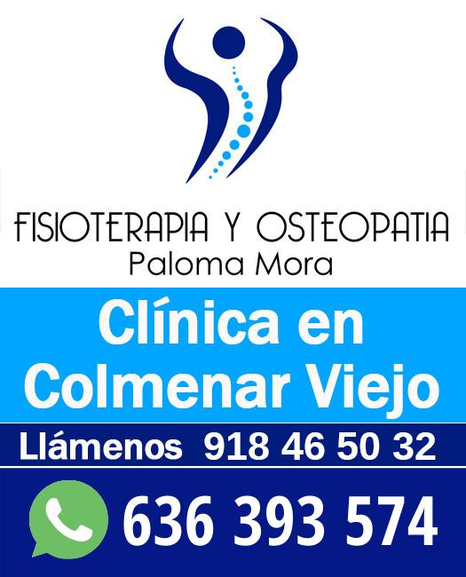 Paloma Mora Recuperación Funcional en Colmenar Viejo