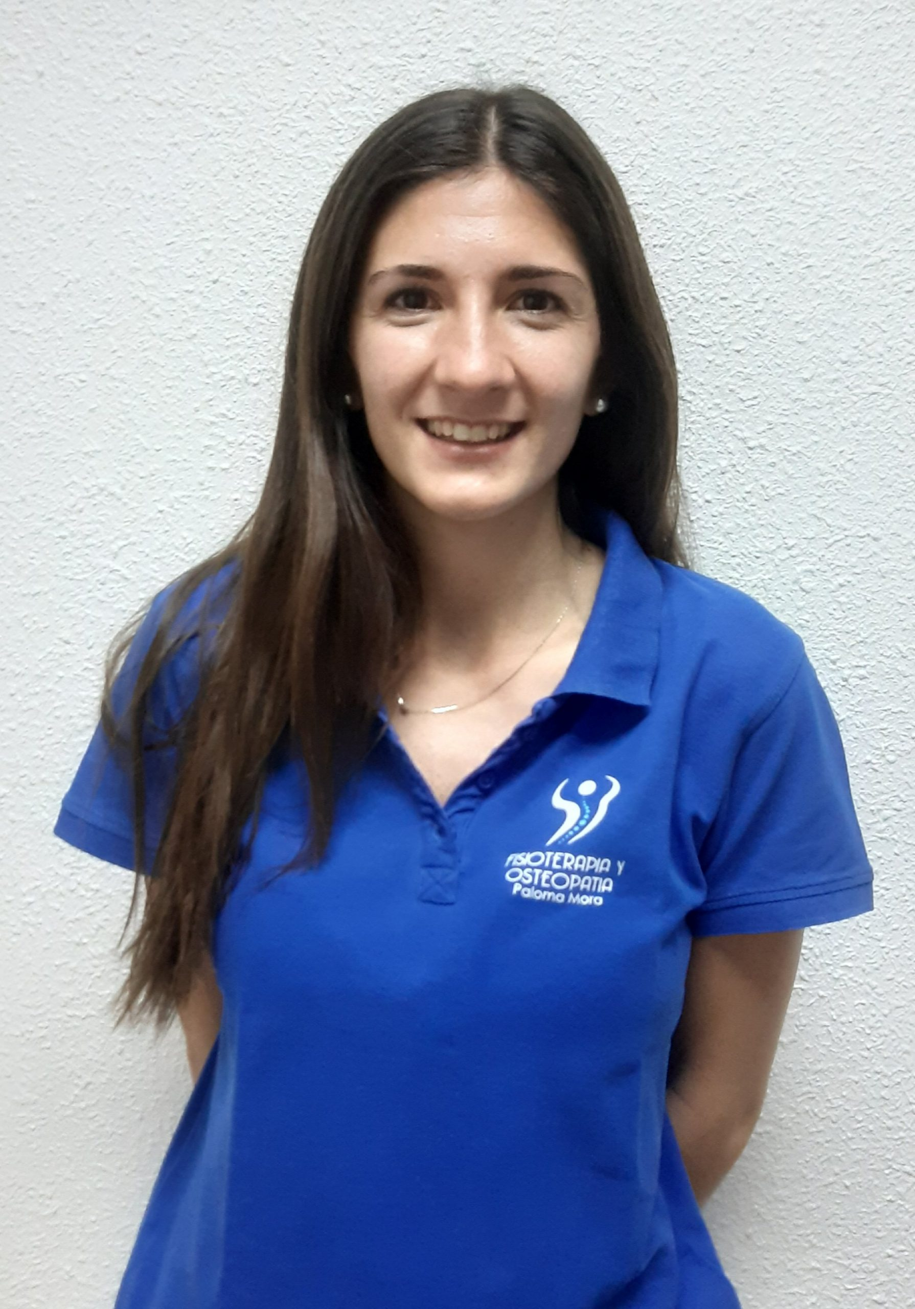 Paloma Mora, Fisioterapeuta titulada